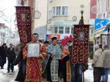 Водосвет и потапяне на кръста за Йордановден в Габрово