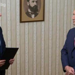 Коалицията ГЕРБ-СДС върна мандата за правителство на президента