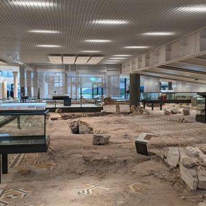 Музеят на най-голямата раннохристиянска базилика у нас беше открит в Пловдив (видео)