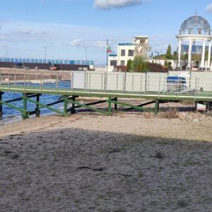 """Плажът до """"сараите"""", който се водеше земеделска земя, вече е нанесен като крайбрежна плажна ивица"""