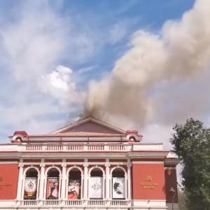 Пожар в русенската опера причини сериозни щети