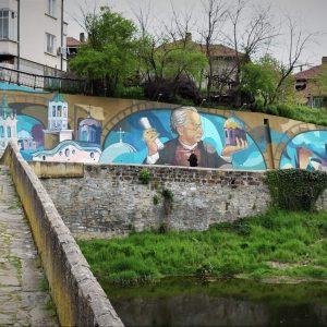Нов стенопис в Дряново чества годишнина на майстор Колю Фичето