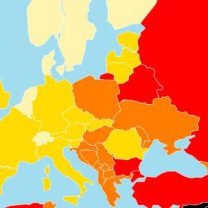 Пропадането продължава – България е вече на 112 място по свобода на медиите
